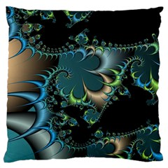 Fractal Art Artwork Digital Art Large Cushion Case (one Side)
