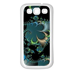 Fractal Art Artwork Digital Art Samsung Galaxy S3 Back Case (white)