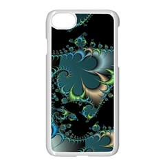 Fractal Art Artwork Digital Art Apple Iphone 8 Seamless Case (white)