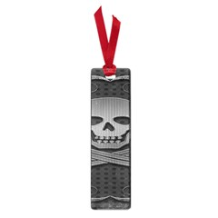 Skull Metal Background Carved Small Book Marks