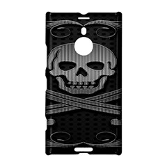 Skull Metal Background Carved Nokia Lumia 1520