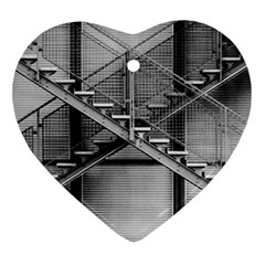 Architecture Stairs Steel Abstract Ornament (heart)