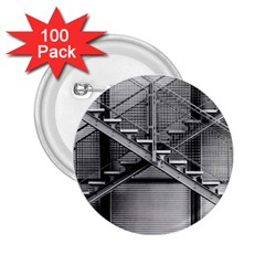Architecture Stairs Steel Abstract 2 25  Buttons (100 Pack)