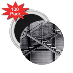 Architecture Stairs Steel Abstract 2 25  Magnets (100 Pack)