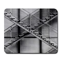 Architecture Stairs Steel Abstract Large Mousepads