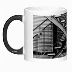 Architecture Stairs Steel Abstract Morph Mugs