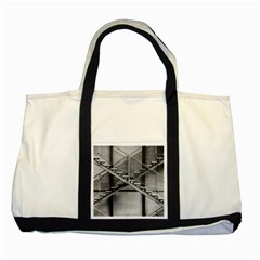 Architecture Stairs Steel Abstract Two Tone Tote Bag