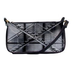 Architecture Stairs Steel Abstract Shoulder Clutch Bags