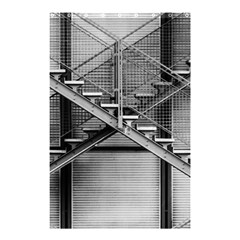 Architecture Stairs Steel Abstract Shower Curtain 48  X 72  (small)