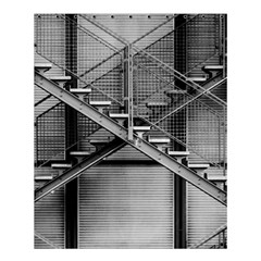 Architecture Stairs Steel Abstract Shower Curtain 60  X 72  (medium)