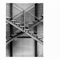 Architecture Stairs Steel Abstract Small Garden Flag (two Sides)