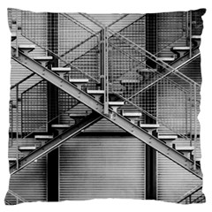 Architecture Stairs Steel Abstract Large Cushion Case (one Side)