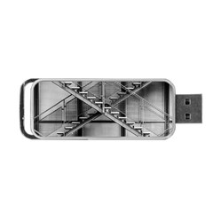 Architecture Stairs Steel Abstract Portable Usb Flash (two Sides)