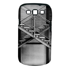 Architecture Stairs Steel Abstract Samsung Galaxy S Iii Classic Hardshell Case (pc+silicone)