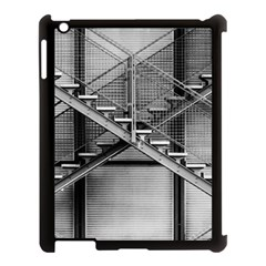 Architecture Stairs Steel Abstract Apple Ipad 3/4 Case (black)