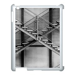 Architecture Stairs Steel Abstract Apple Ipad 3/4 Case (white)