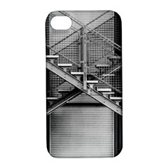 Architecture Stairs Steel Abstract Apple Iphone 4/4s Hardshell Case With Stand