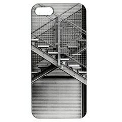 Architecture Stairs Steel Abstract Apple Iphone 5 Hardshell Case With Stand