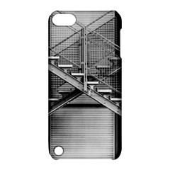 Architecture Stairs Steel Abstract Apple Ipod Touch 5 Hardshell Case With Stand