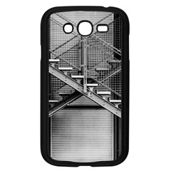 Architecture Stairs Steel Abstract Samsung Galaxy Grand Duos I9082 Case (black)