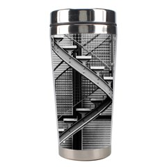 Architecture Stairs Steel Abstract Stainless Steel Travel Tumblers