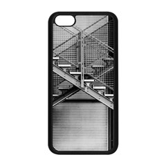 Architecture Stairs Steel Abstract Apple Iphone 5c Seamless Case (black)