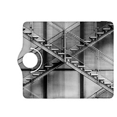 Architecture Stairs Steel Abstract Kindle Fire Hdx 8 9  Flip 360 Case