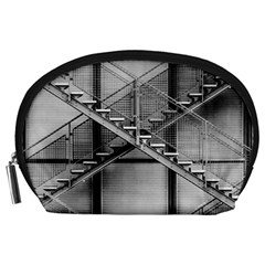 Architecture Stairs Steel Abstract Accessory Pouches (large)
