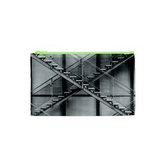 Architecture Stairs Steel Abstract Cosmetic Bag (xs)