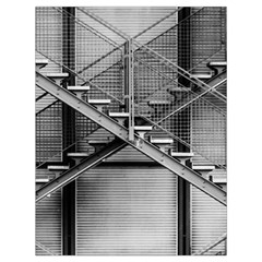 Architecture Stairs Steel Abstract Drawstring Bag (large)