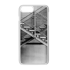 Architecture Stairs Steel Abstract Apple Iphone 8 Plus Seamless Case (white)
