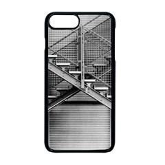 Architecture Stairs Steel Abstract Apple Iphone 8 Plus Seamless Case (black)