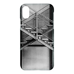 Architecture Stairs Steel Abstract Apple Iphone X Hardshell Case