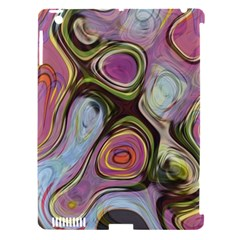 Retro Background Colorful Hippie Apple Ipad 3/4 Hardshell Case (compatible With Smart Cover)