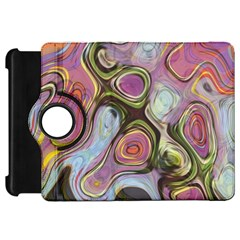 Retro Background Colorful Hippie Kindle Fire Hd 7