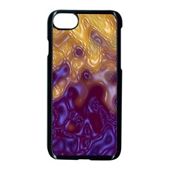 Fractal Rendering Background Apple Iphone 8 Seamless Case (black)