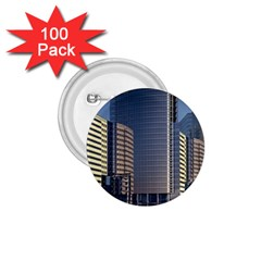 Skyscraper Skyscrapers Building 1 75  Buttons (100 Pack)