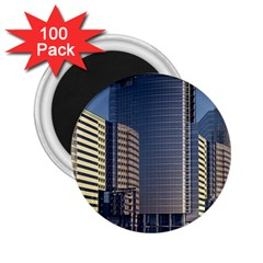 Skyscraper Skyscrapers Building 2 25  Magnets (100 Pack)