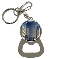 Skyscraper Skyscrapers Building Button Necklaces