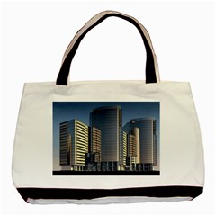 Skyscraper Skyscrapers Building Basic Tote Bag (two Sides)