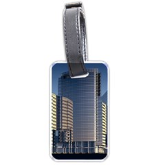 Skyscraper Skyscrapers Building Luggage Tags (one Side)