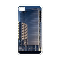 Skyscraper Skyscrapers Building Apple Iphone 4 Case (white)