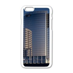 Skyscraper Skyscrapers Building Apple Iphone 6/6s White Enamel Case