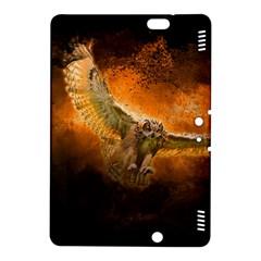 Art Creative Graphic Arts Owl Kindle Fire Hdx 8 9  Hardshell Case