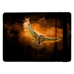 Art Creative Graphic Arts Owl Samsung Galaxy Tab Pro 12 2  Flip Case