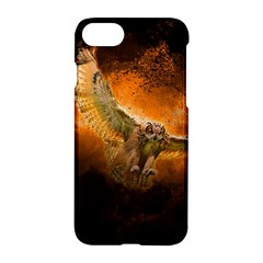Art Creative Graphic Arts Owl Apple Iphone 8 Hardshell Case