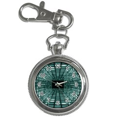 Abstract Perspective Background Key Chain Watches