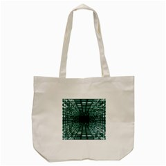 Abstract Perspective Background Tote Bag (cream)