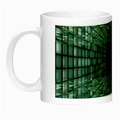 Abstract Perspective Background Night Luminous Mugs