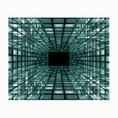 Abstract Perspective Background Small Glasses Cloth